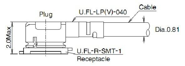 ipex--sma母座-连接线-产品展示其它天线和无源器件线